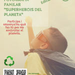 Copia de cartell CONCURS DE V-DEO FAMILAR _SUPERHEROIS DEL PLANETA_ 2018